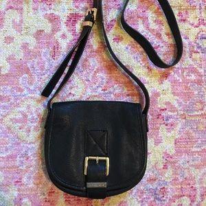 Michael Kors Black Leather Crossbody